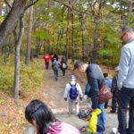 秋の信夫山散策と新そばを味わう会